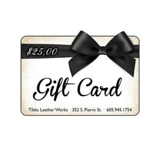 Tibbs Leather Works Gift Card Pierre SD